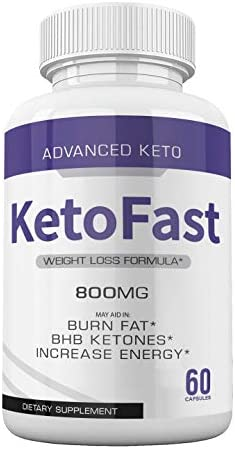 (5-Pack) Keto Fast Diet Pills Advanced Ketogenic Keto Fast Burn Ultra Weight Management Capsules 700mg Pure Keto Fast Supplement for Energy - BHB Boost Exogenous Ketones for Rapid Ketosis Men Women 5