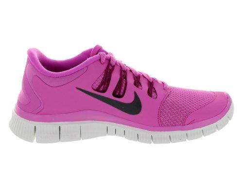 Nike Women's Free 5.0+ Laufschuh Rot Violett / Hell Magenta / Summit Weiß / Eisenerz