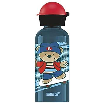 SIGG Alutrinkflasche Kids let/'s run Flasche 0,4L Trinkflasche Aluminium Schule S