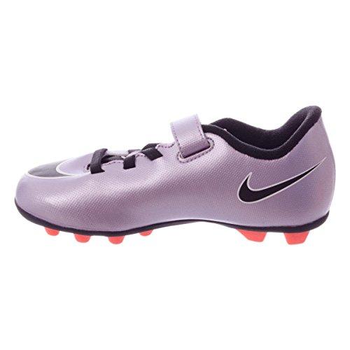 Bimbi 24 Unisex V Scarpe FG Blk Porpora r 2 Sportive Urbn Mng Vortex Lilac white 0 Jr Nike Nero Mercurial brght Bianco qz0W7wvxI