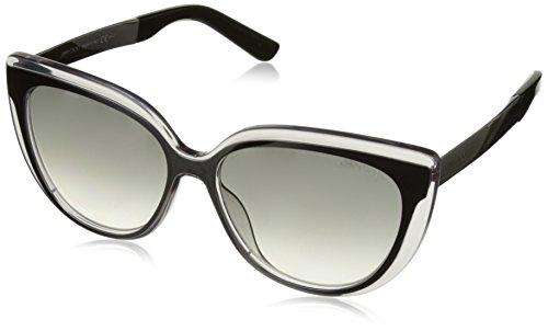 Jimmy Choo Cindy Sunglasses Gray / Gray Mirror Shaded - Choo Sunglasses Buy Jimmy