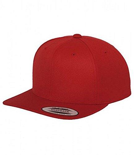Flexfit Cap rojo Skater Snapback Gorra Rapper Modelos Trend Gorro ...