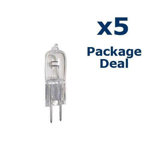 5 X Osram Sylvania FCR 64625 HLX 100W bulb lamps Projector Studio DJ