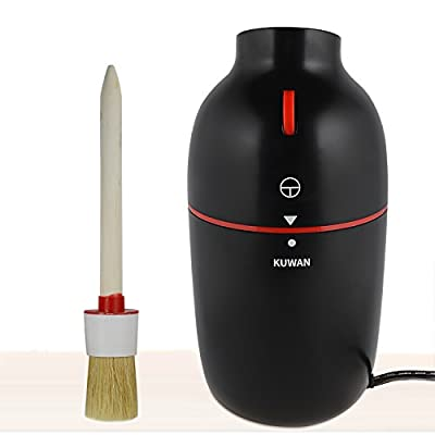 KUWAN Electric Coffee Grinder for Various Ingredients and Herbs Spices with Stainless Steel Blades, Black by B-KW-1152
