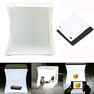 LED Light Room Photo Studio Photography Lighting Tent Kit Backdrop Cube Mini Box ,Tuscom