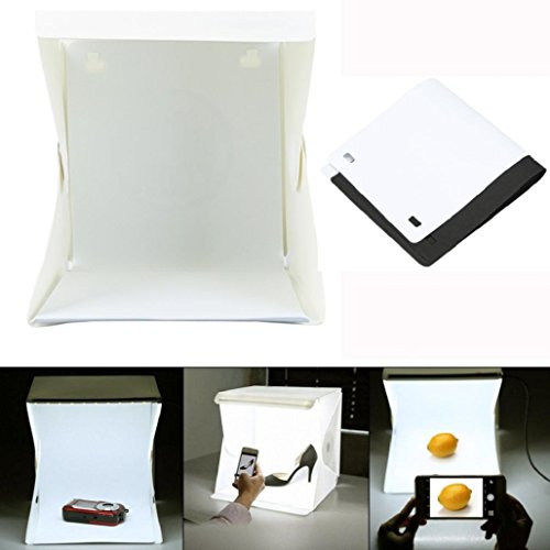 LED Light Room Photo Studio Photography Lighting Tent Kit Backdrop Cube Mini Box ,Tuscom - Mr16 Studio