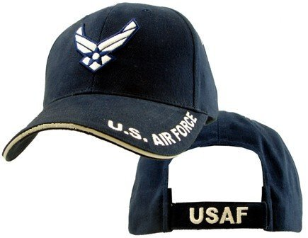 USAF Air Force Logo with HAP Embroidered Ball Cap