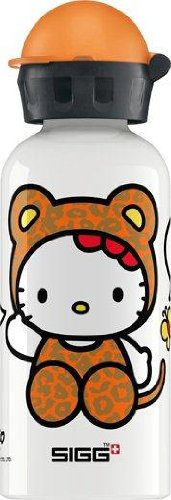 (Sigg Hello Kitty Leopard Water Bottle, White,)