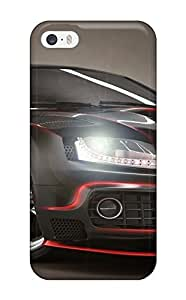 Matt C Brown Case Cover Protector Specially Made For Iphone 5/5s Audi2