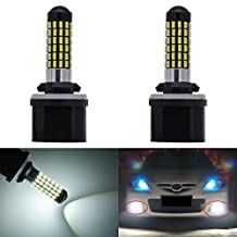 KaTur Extremely Bright 900 Lumens 3014 78-EX Chipsets 880 886 890 892 Led Bulb DRL Fog Lights Xenon White (Pack of 2)