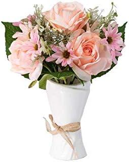Skflo Artificial Flower Rose Table Centerpiece Diy Home Decoration