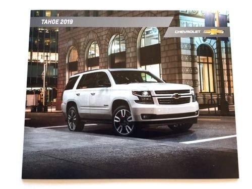 2019 Chevrolet Tahoe 28-page Original Car Sales Brochure Catalog