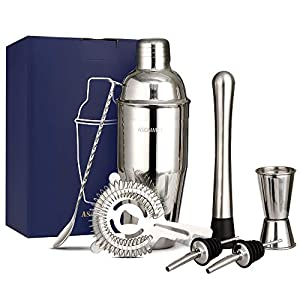 Set Cocktail Shaker Manhattan In Acciaio Inossidabile 750ml Resistente Alla Ruggine 10 spesavip