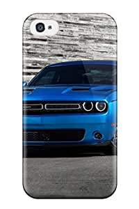 Hot Tpu Cover Case For Iphone/ 4/4s Case Cover Skin - Dodge Challenger 2015