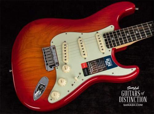 Fender American Elite Stratocaster - Aged Cherry Burst w/Ebony Fingerboard