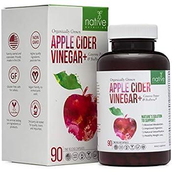 Amazon.com: Organic Apple Cider Vinegar Capsules – Premium