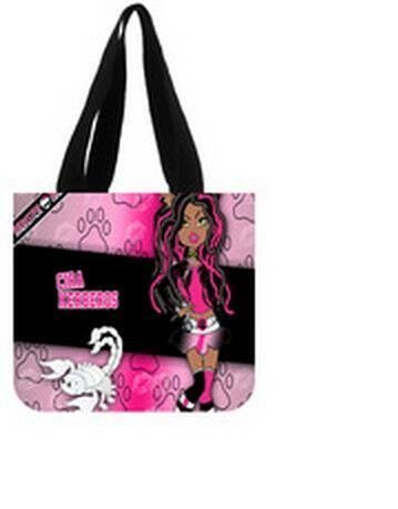 Hot issue Monster High Reusable Eco-friendly Shopping Tote Bag 2 Sides (Monster Heavy Bag)