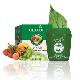 Biotique Bio Fruit Whitening Lip Balm Lightens & Evens Out L