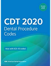 CDT 2020: Dental Procedure Codes: Now with ICD-10 Codes!
