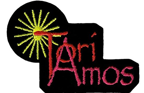 Tori Amos Embroidered Iron On or Sew On - Square Amo Fashion Del