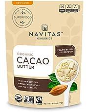 Navitas Organics Cacao Butter, 8 Ounce