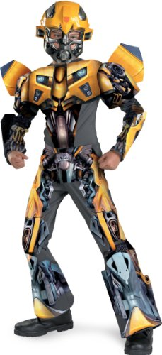 Bumblebee Movie 3-d Deluxe Child Costume - Medium (7-8) by Costume Supercenter