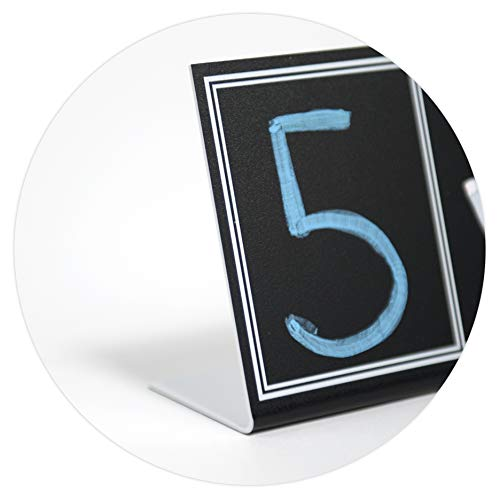 Solid Border Custom Product Solutions Countdown Chalkboard Pedestal Sign