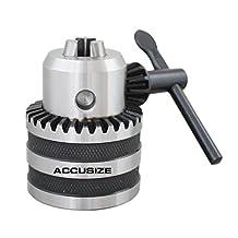 """Accusize - 1/2"""" X JT33 Drill Chuck, #0222-0704"""