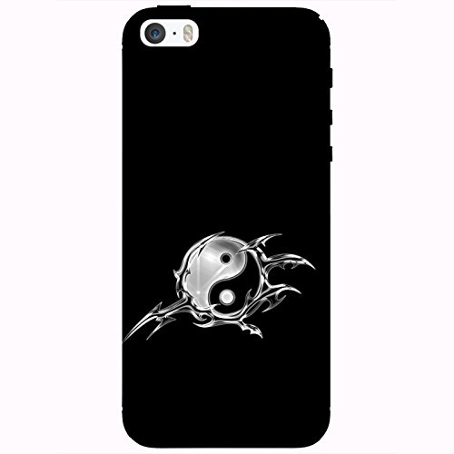 Coque Apple Iphone 5-5s-SE - Yin et Yiang