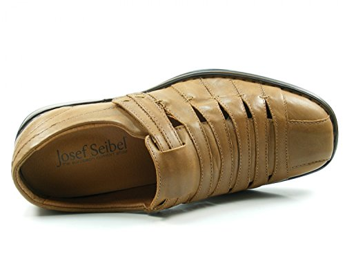 Josef Seibel Steven 33200 Zapatos con Cierre de Velcro Para Hombre Braun