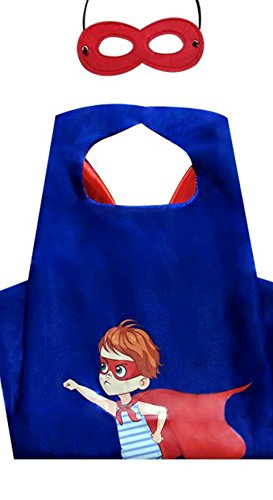 SBK Dress Up Comics Cartoon Superhero Costume PJ Masks 3 Pack Captain America -