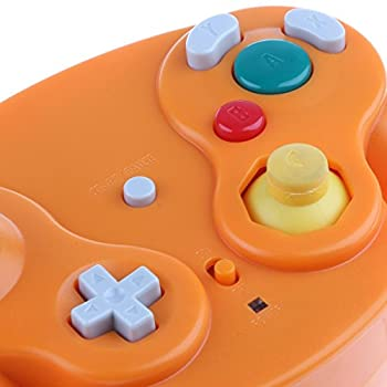 Wireless 2.4ghz Controller Gamepad For Nintendo Gamecube & Nintendo Wii (Spice Orange) 7
