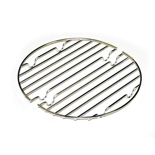 CanCooker Inc RK-003 Can Cooker Rack, Round, - Stainless Grill Steel Bass Pro