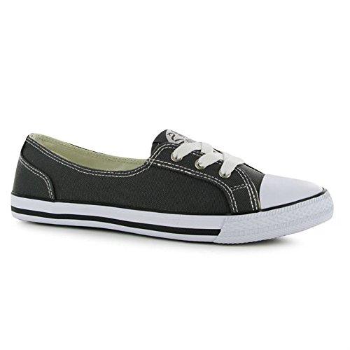 Dunlop - Zapatillas de Lona para Mujer, Color Gris, Talla 37: Amazon.es: Zapatos y complementos