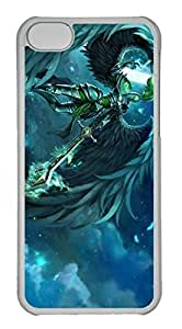 iPhone 5C Case, iPhone 5C Cases - Anti-Scratch Crystal Clear Hard Back Case for iPhone 5C Kayle League Of Legends 8 Shock-Absorption Hard Back Bumper Case for iPhone 5C