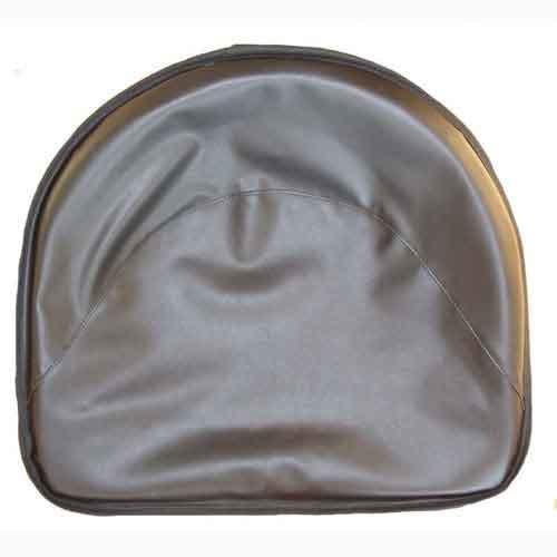 Pan Seat 21'' Deluxe Cushion Vinyl Black Compatible with Ford 4000 4110 2000 International Oliver John Deere 2030 Massey Ferguson 50 Allis Chalmers Minneapolis Moline Massey Harris CockShutt/CO OP