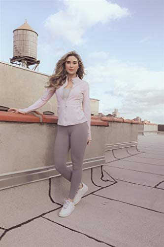 90 Degree By Reflex Ankle Length High Waist Power Flex Leggings - 7/8 Tummy Control Yoga Pants - Black - XS