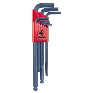 Bondhus Hex Key Set BLX22 Includes Metric BLX9M /& Imperial BLX13