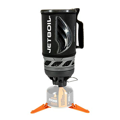 - Jetboil Flash Camping Stove Cooking System, Carbon