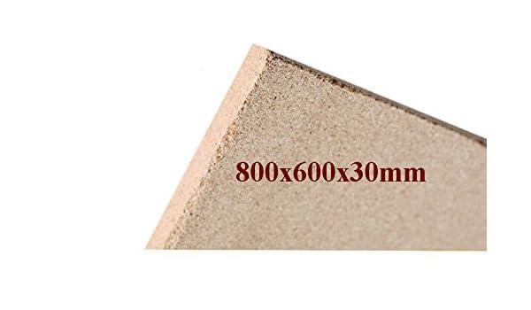 1x30mm Vermiculita Placas tableros de protección de Incendios 800x600x30mm schamotte Repuesto: Amazon.es: Bricolaje y herramientas