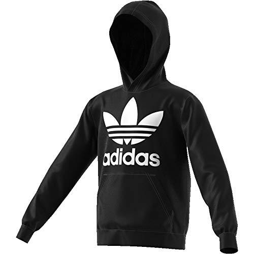 J Noir Sweat Capuche Blanc Adidas À Trf Enfant 7q87dg