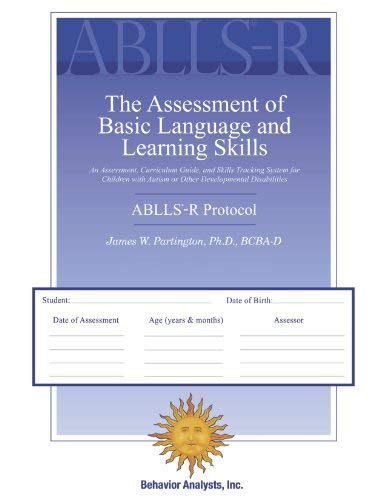 ABLLS-R – The Assessment of Basic Language and Learning Skills – Revised (The ABLLS-R) Combination Set