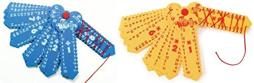 Learning Wrap-ups Division and Multiplication Math Tool for Kids by LEARNING WRAP-UPS SELF-CORRECTING