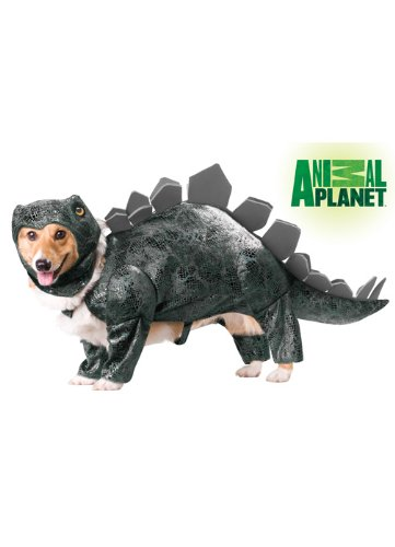 Animal Planet PET20105 Stegosaurus Dog Costume, Small
