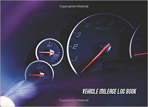 amazon vehicle mileage log book auto vehicle truck suv gas