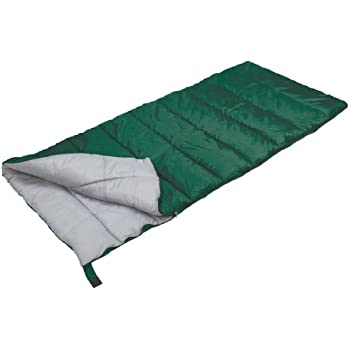 Stansport Scout Rectangular Sleeping Bag (Green, 40-Degree)