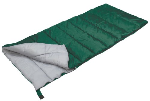 (Stansport Scout Rectangular Sleeping Bag (Green, 40-Degree))