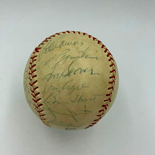 1969 NY Mets World Series Champs Team Signed Baseball With Nolan Ryan Tom Seaver - Autographed Baseballs