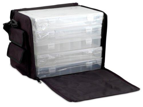 Beadalon Fabric Box Case with Boxes