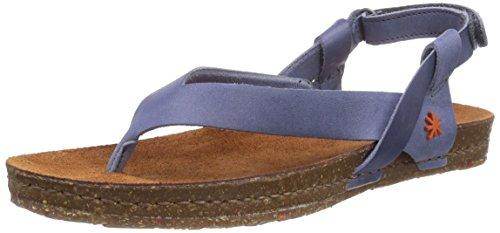 ART CRETA - Sandalias de vestir de cuero para mujer azul - Blau (CREPUSCULO)